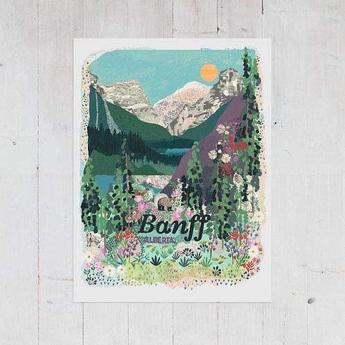 Anja Jane -Banff print