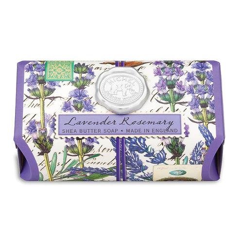 Michel Design Works - lavender rosemary bath soap bar large