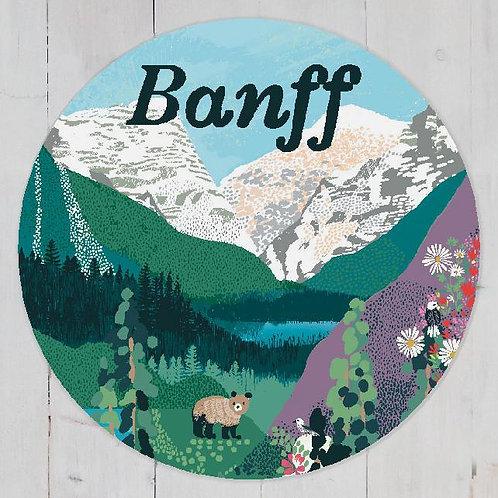 Anja Jane -Banff magnet