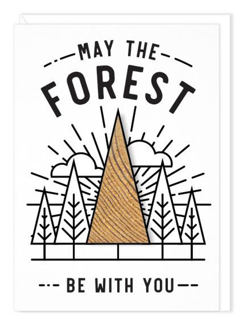 Wilder - May the Forest card