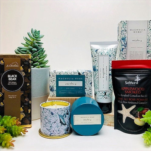 Wellness Care Package - Home Spa Essentials