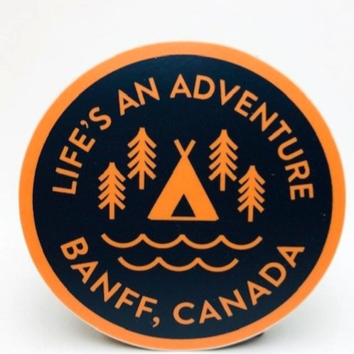 Stickers Northwest Inc -  Banff Life's An Adventure