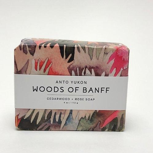 Anto Yukon Woods of Banff Soap - 4oz / 113g