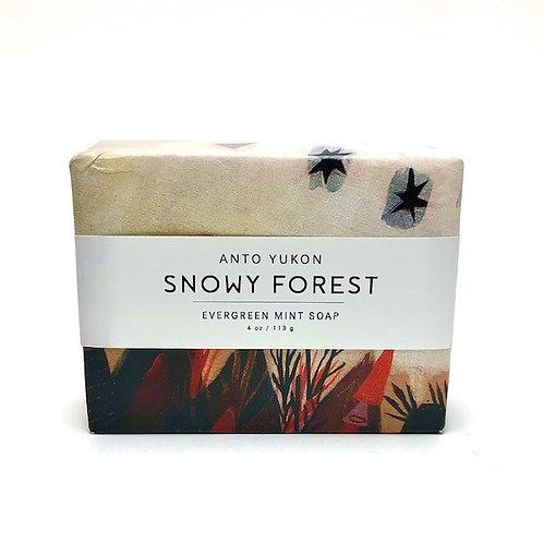 Anto Yukon Snowy Forest bar soap - 4oz / 113