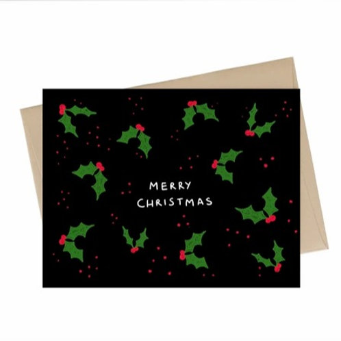 Little May Papery - holly christmas