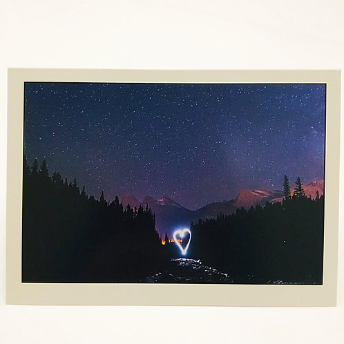 Jason McKeown Photography - 'Mountain Love' card