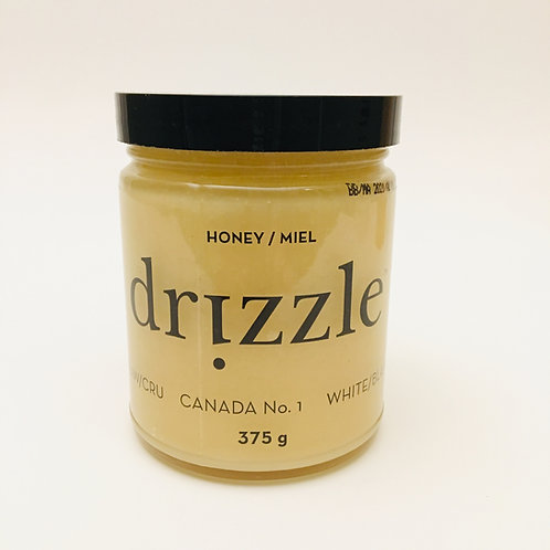 Drizzle White Raw Honey - 375g / 13oz