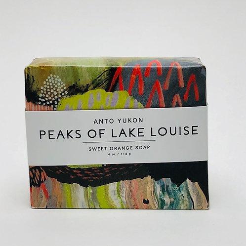 Anto Yukon Peaks of Lake Louise Soap - 4oz / 113g