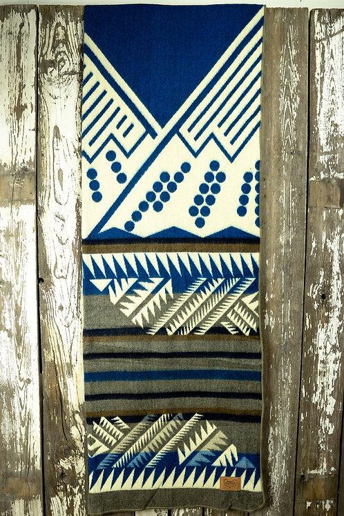 "Heartprint Threads Queen Blanket - 80 x 92"" mountain vibes louise"