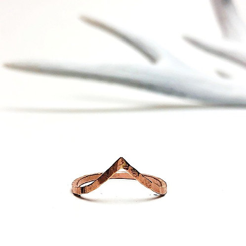 Wild - valley ring rose gold