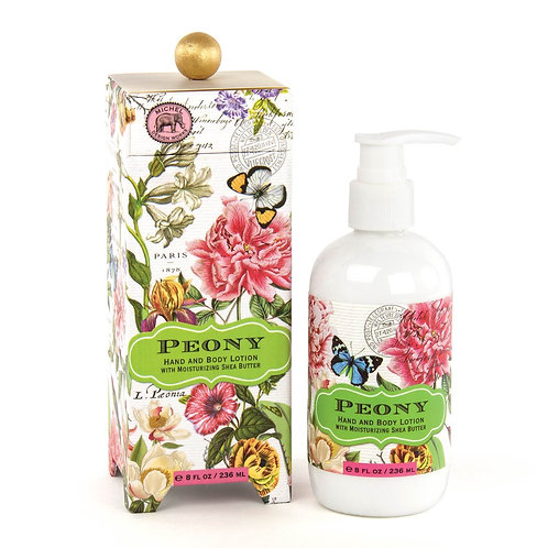 Michel Design Works - peony boxed lotion