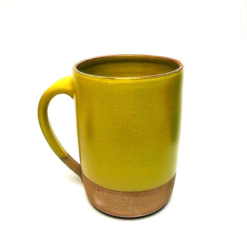 Monashee Pottery - handle mug sunshine yellow