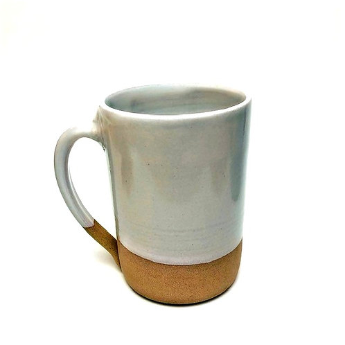 Monashee Pottery - handle mug cool white