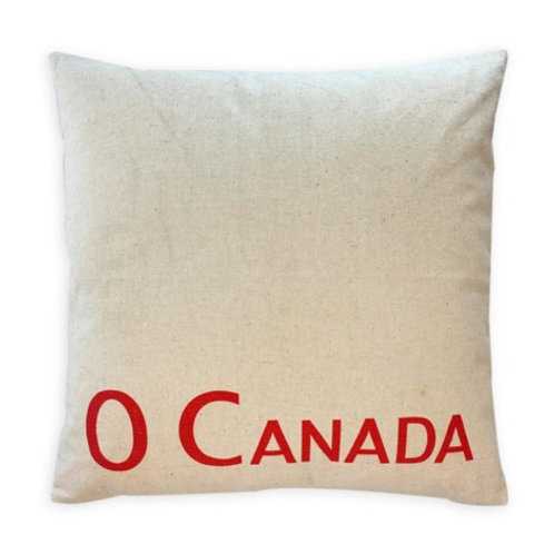O'Canada cushion red