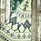 "Thumbnail: Heartprint Threads Queen Blanket - 80 x 92"" tree line colorado blue"