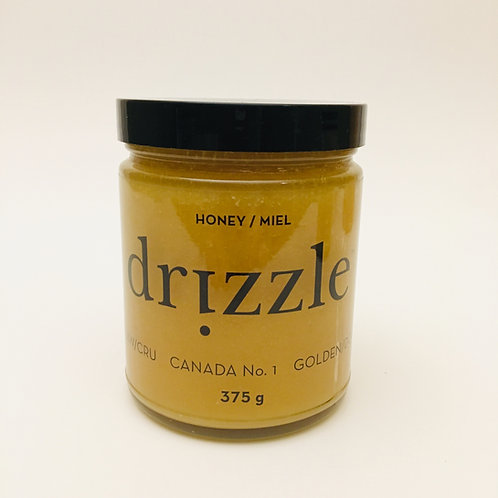 Drizzle Golden Raw Honey - 375g / 13oz