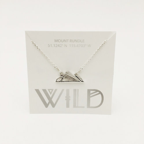 Wild - Rundle Mountain necklace