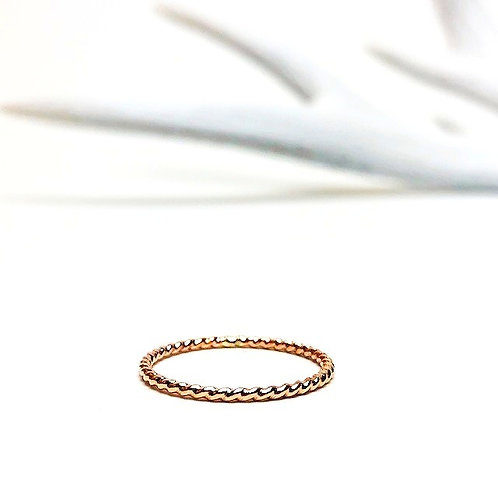 Wild - river ring rose gold
