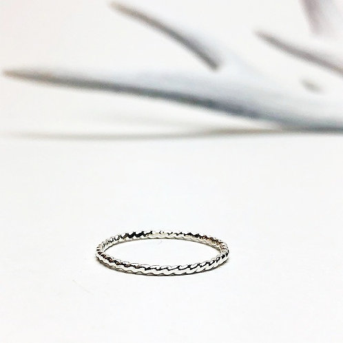 Wild - river ring silver