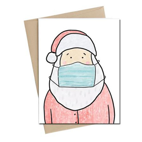 Little May Papery - santa mask