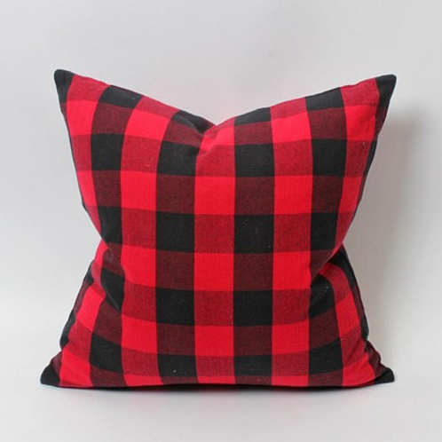 Lumberjack Plaid cushion