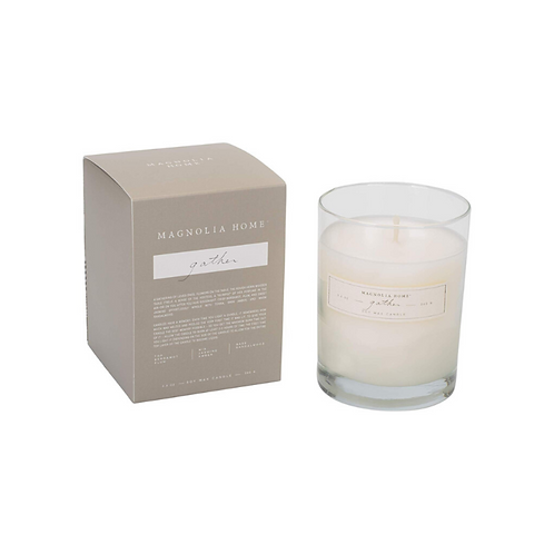 Magnolia Home - Gather candle boxed