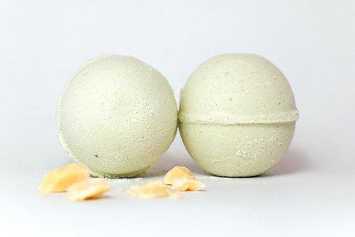 Lamb's Soapworks - bath bomb lemongrass