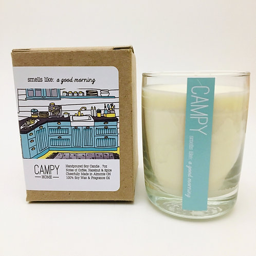 Campy Candle - Smells like: A Good Morning 7 oz.