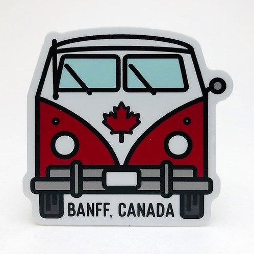 Stickers Northwest Inc -  Banff Canada VW bus