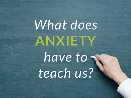 Anxiety is your truth detector