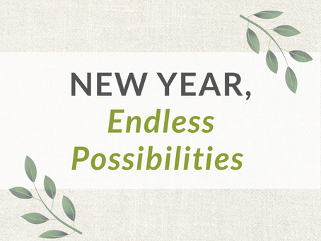 New Year, Endless Possibilities