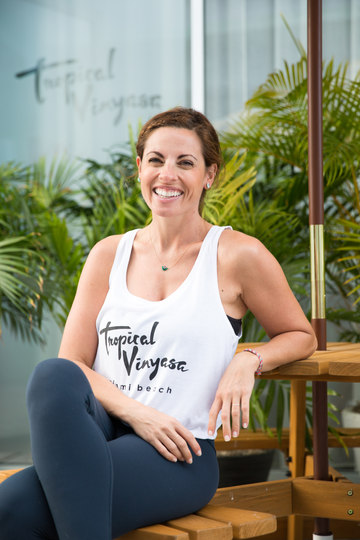 Tropical Vinyasa - Jacqueline Romano