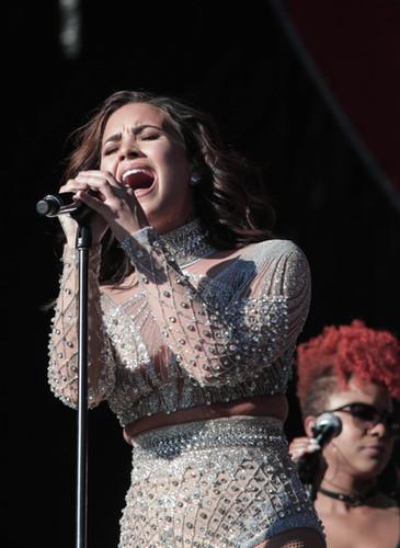 Demi Lovato by Jacqueline Romano