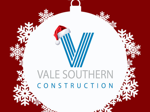 Merry Christmas from all of us at Vale  Southern Construction