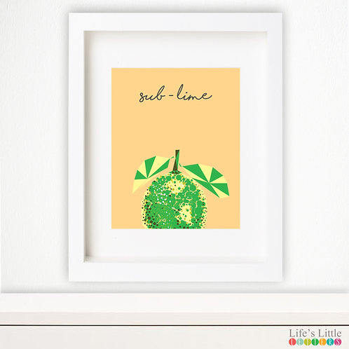 Sub-lime