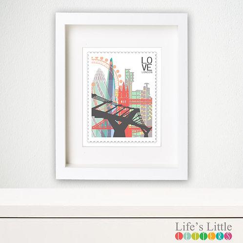 London City Stamp