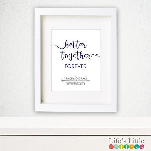 Better Together Forever