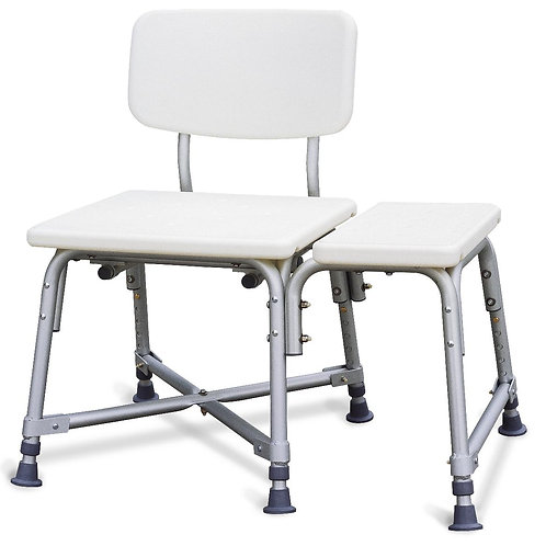 Non-Padded Bariatric Bench Transfer