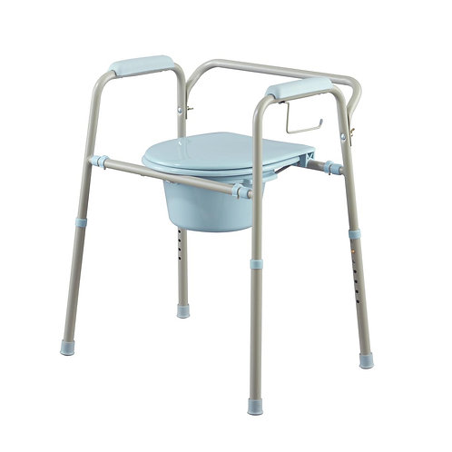 Steel Commode With Microban