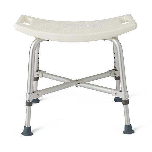 Bariatric bath bench w/o back