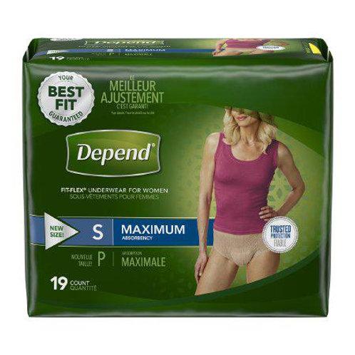 Depends Women's FIT-FLEX Underwear by Kimberly-Clark