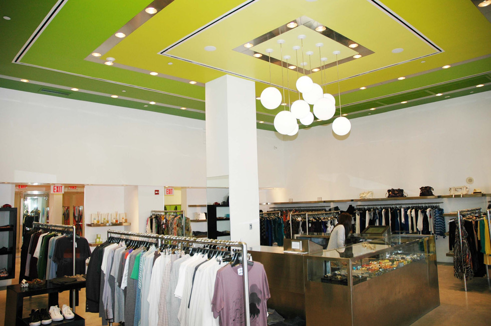 Commercial Retail Projects Creative Art & Design