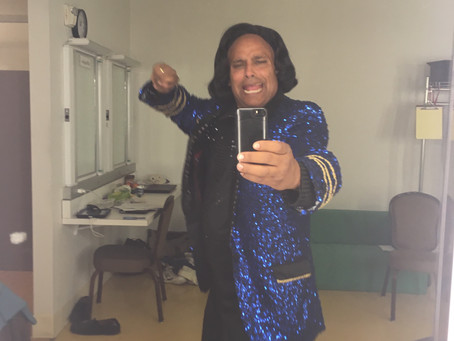 """Coming up to opening """"Black Odyssey"""" at CalShakes. I'mexcited about this amazing show"""