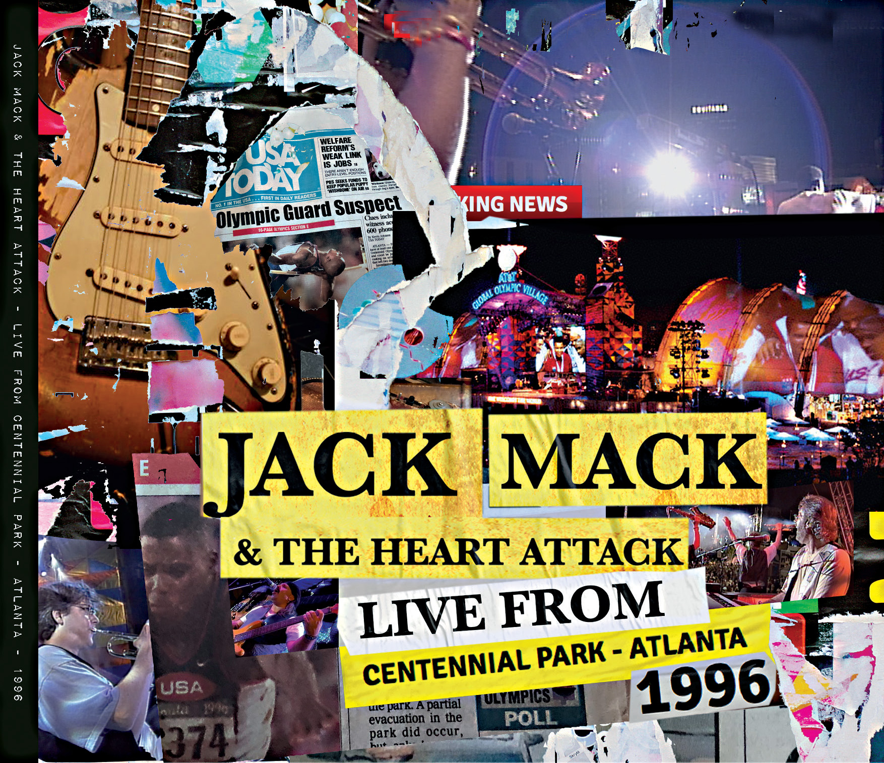 Jack Mack Live in Atlanta front cover