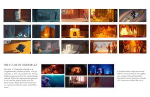 Color Script-Cinderella