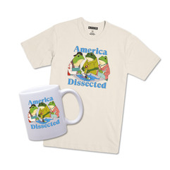 America Dissected Merch