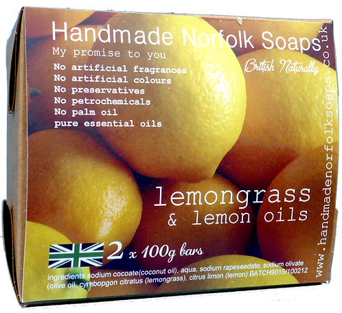 Lemongrass & Lemon - 2 Bar Box
