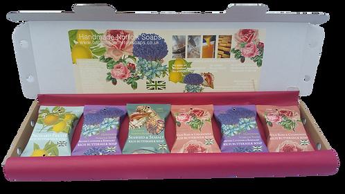 Letterbox Gift 6 Buttermilk luxury wraps