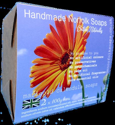 Marigold Calendula - 2 Bar Box