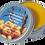 Thumbnail: Shore Spa Sea Buckthorn & Lemongrass Essential Oil Skin Balm
